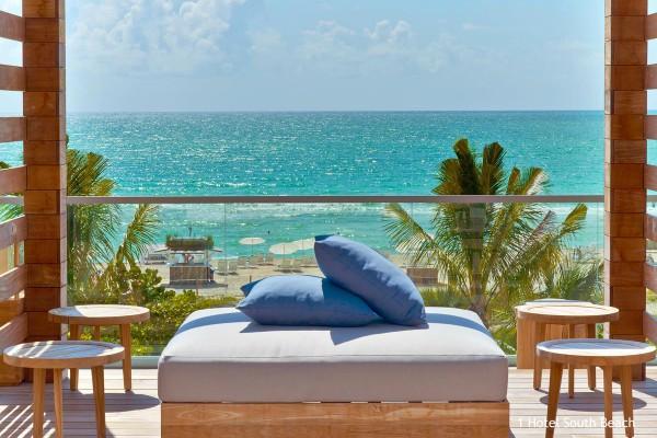 Miami, 1 Hotel South Beach - rondreis Amerika, opDroomreis.nu