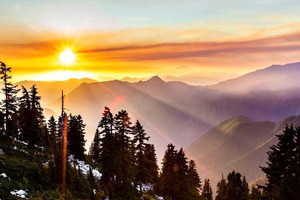 Cascade Mountain NP, rondreis Washington en Orgeon - opDroomreis