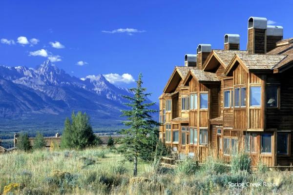 Grand Teton NP, Spring Creek Ranch - rondreis Amerika, opDroomreis.nu