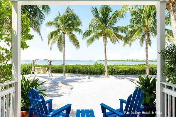 Key West, Parrot Key Hotel & Villa - rondreis Amerika, opDroomreis.nu