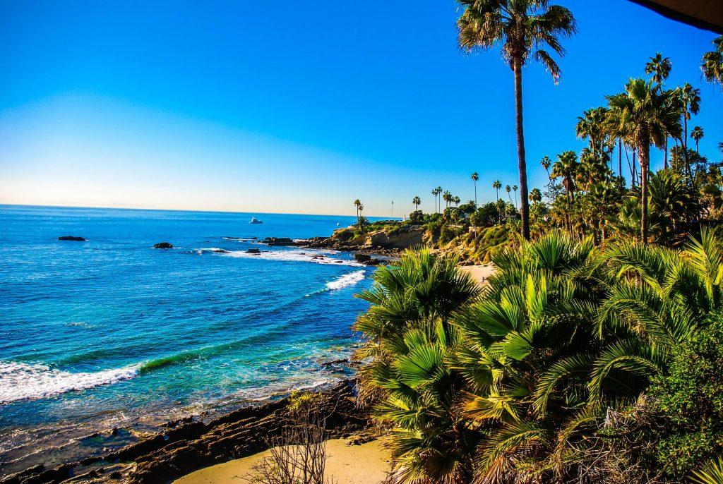 Los Angeles, Laguna Beach, strand, rondreis Amerika - opDroomreis.nu