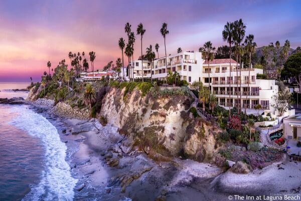 Los Angeles, The Inn at Laguna Beach, view - rondreis Amerika, opDroomreis.nu