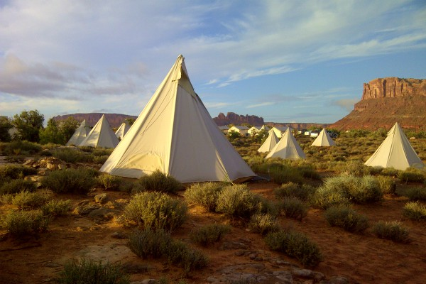 Moab, Moab under Canvas, rondreis Amerika - opDroomreis.nu