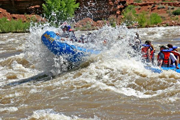 Moab, River Rafting Adrift Tour, rondreis Amerika - opDroomreis.nu