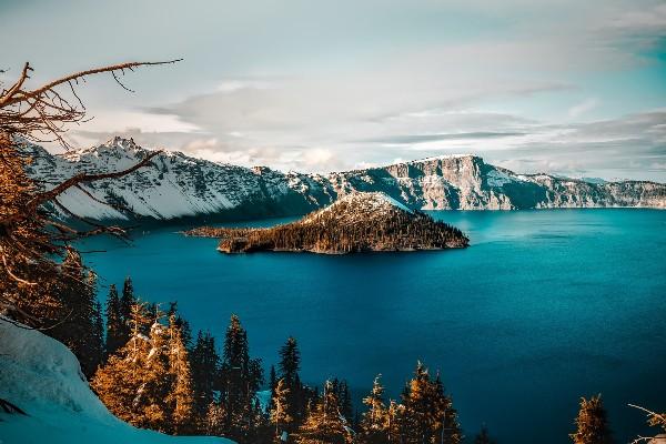 Crater Lake NP, Oregon, rondreis Amerika - opDroomreis.nu