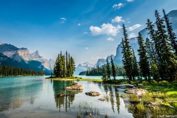 Jasper NP, Maligne Lake, rondreis West-Canada - opDroomreis.nu