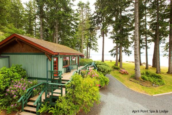 Quadra Island, April Point Spa & Lodge, rondreis West-Canada - opDroomreis.nu