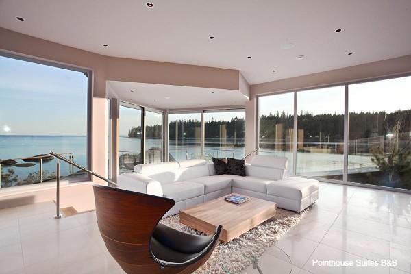 Sunshine Coast, Pointhouse Suites B&B, interior, rondreis West-Canada - opDroomreis.nu