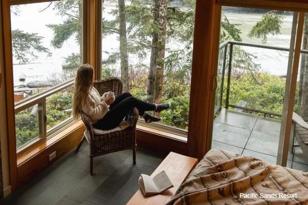 Tofino, Pacific Sands Resort, resort, rondreis West-Canada - opDroomreis.nu