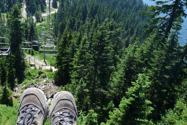 Vancouver, Grouse Mountain, rondreis West-Canada - opDroomreis.nu