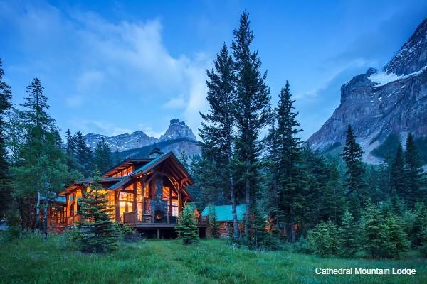 Yoho NP, Cathedral Mountain Lodge, rondreis West-Canada - opDroomreis.nu