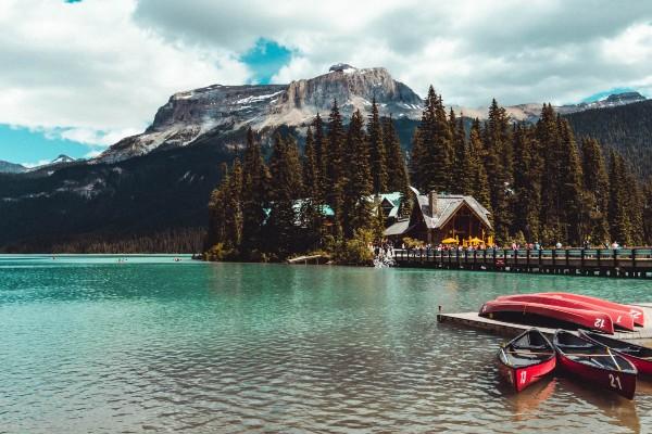Yoho NP, Emerald Lake Lodge, rondreis West-Canada - opDroomreis.nu