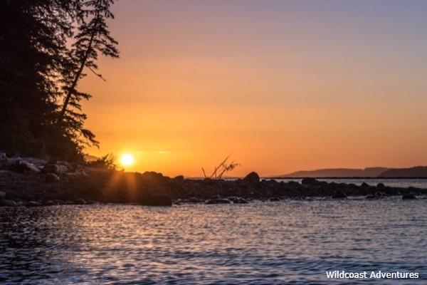 Vancouver Island, Orca Camp, view, rondreis West-Canada - opDroomreis.nu