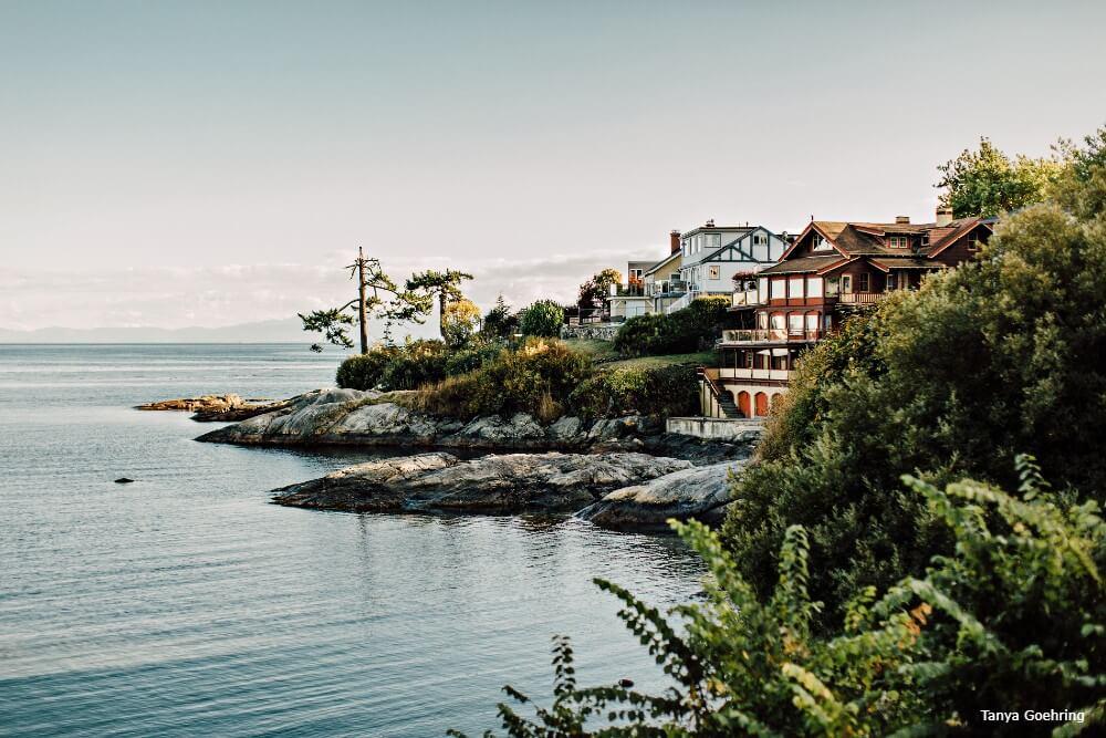 Victoria, near Gonzales Beach, rondreis West-Canada - opDroomreis.nu