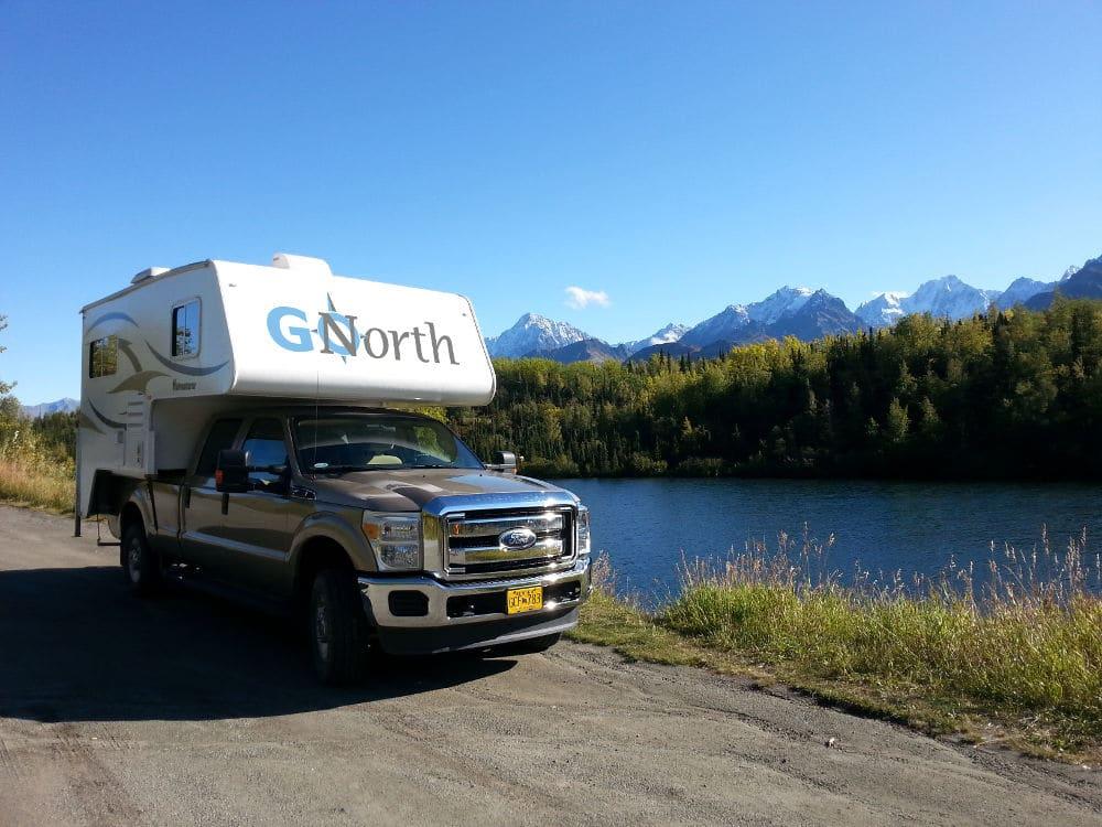 Camperreis Alaska en Yukon, Truckcamper GoNorth, rondreis Alaska en Yukon - opDroomreis.nu