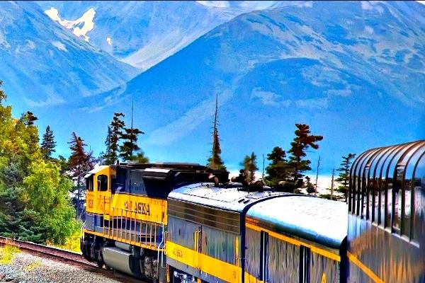 Treinreizen Alaska: reis ontspannen en bijzonder | opDroomreis.nu