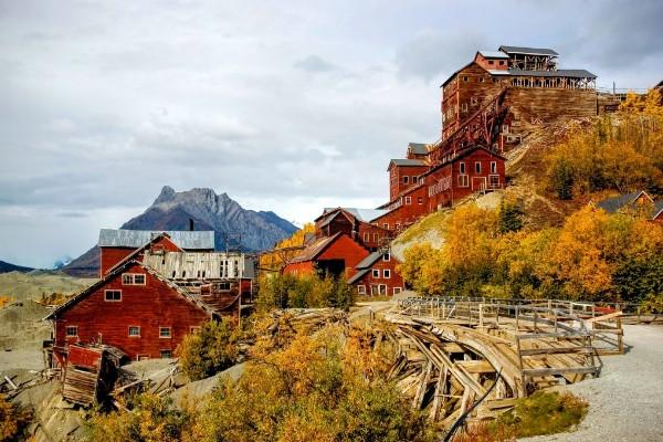 Wrangell-St. Elias NP, Kennecott, rondreis Alaska en Yukon - opDroomreis.nu