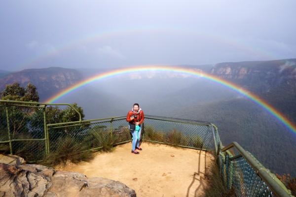 Blue Mountains NP, Pullpit Rock Lookout - rondreis Australië, opDroomreis.nu