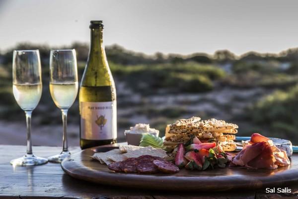 Exmouth, Sal Salis, excellent food - rondreis Australië, opDroomreis.nu