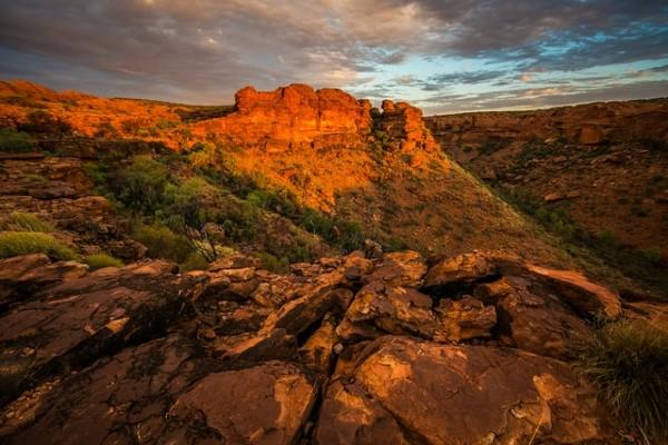 Kings Canyon NT - rondreis Australië, opDroomreis.nu