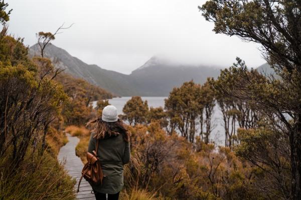 Tasmanië, Cradle Mountain NP, camperreis - rondreis Australië, opDroomreis.nu