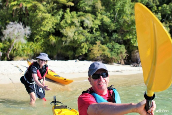 Abel Tasman NP, Walk- en Kajaktrip, rondreis Nieuw-Zeeland - opDroomreis.nu