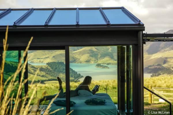 Akaroa, PurePod Pohue - rondreis Nieuw-Zeeland, opDroomreis.nu