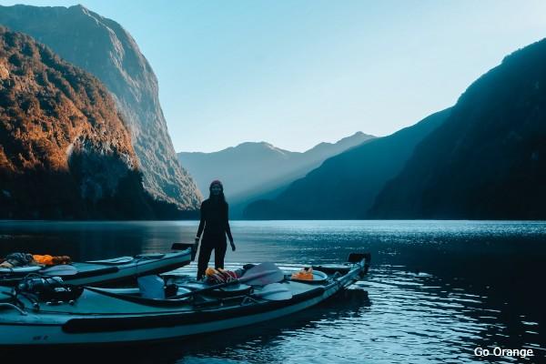 Doubtful Sound, Go Orange Kayak - rondreis Nieuw-Zeeland, opDroomreis.nu