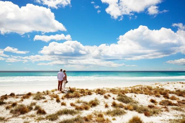 Freycinet NP, Freycinet Experience Walk, strand - rondreis Australië, opDroomreis.nu